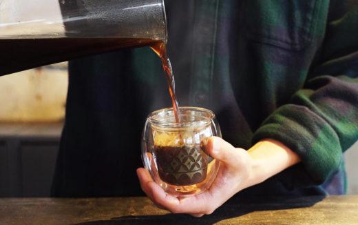 切子×ダブルウォールグラス「Fuwan-浮碗-」日本の伝統技術を守りたい。機能性と今までにないデザインで登場しています。