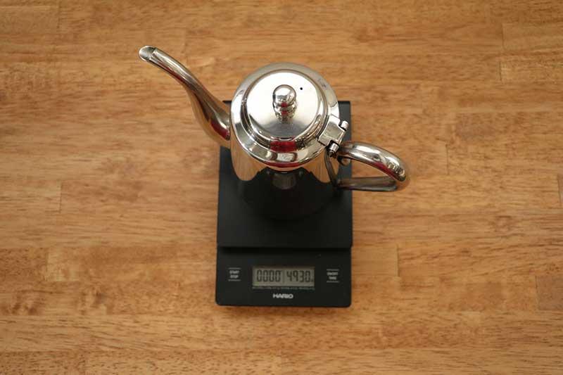 YUKIWA M-5 重さ 比較