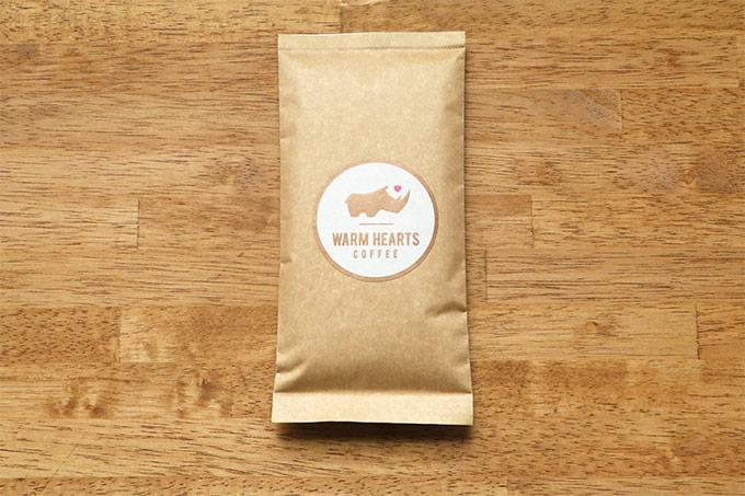 ウォームハーツコーヒークラブ 豆袋