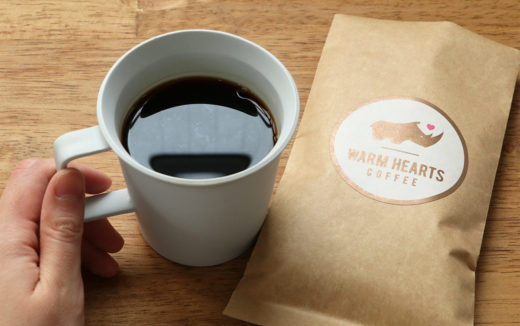 売上げの100%が生産国へ寄付される。マラウイのコーヒーを飲んでみました。