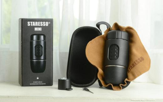 電源不要!片手に収まる携帯用エスプレッソメーカー、STARESSO MINI(スタレッソミニ)がAmazonより発売開始!