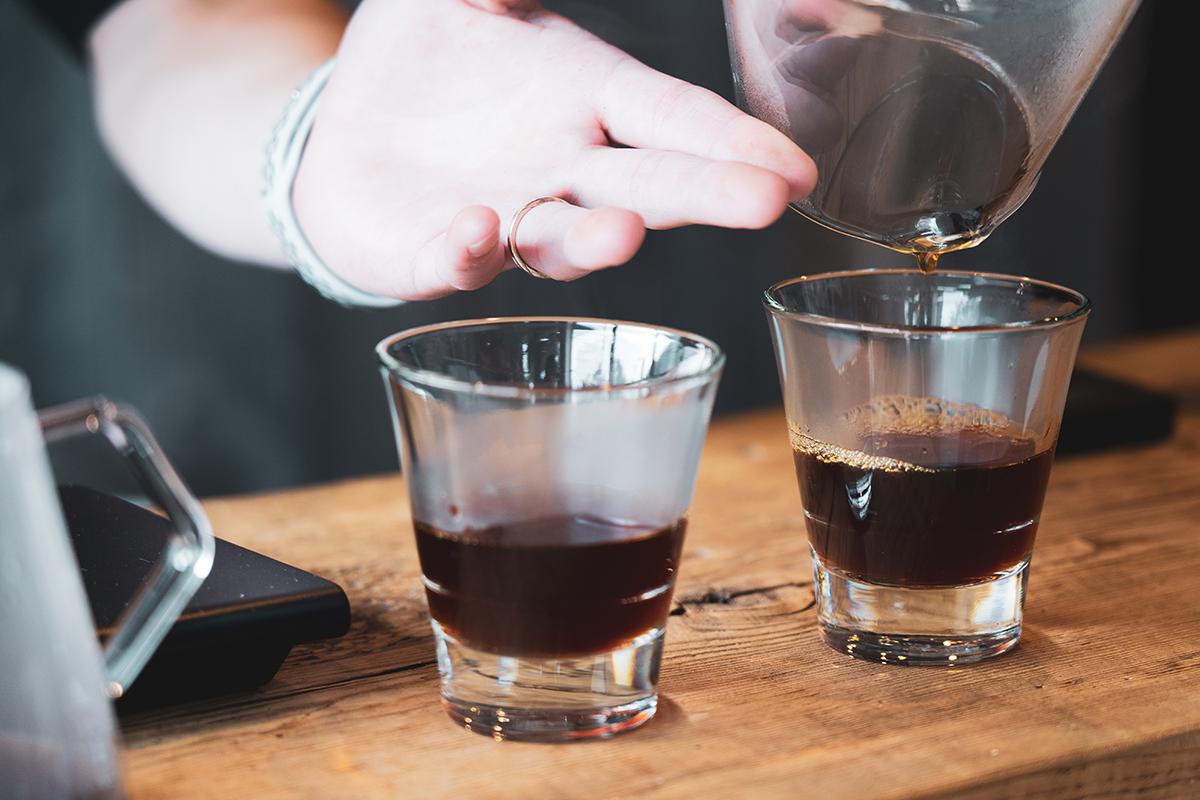 宮の森アルケミストコーヒー 試飲