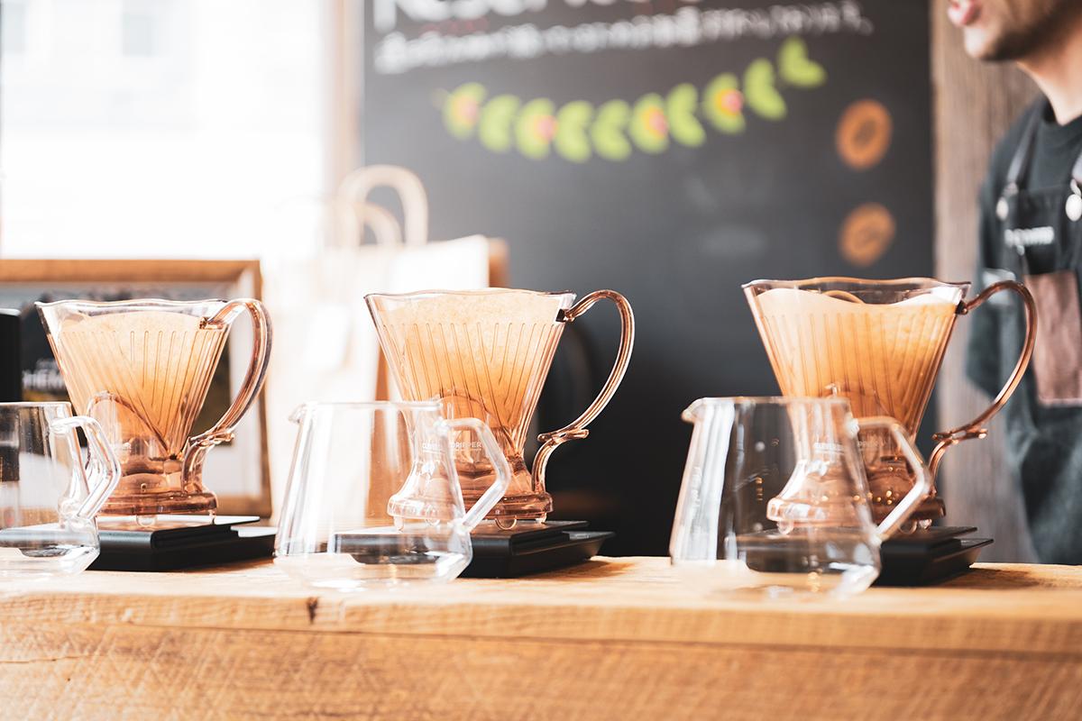 宮の森アルケミストコーヒー クレーバードリッパー