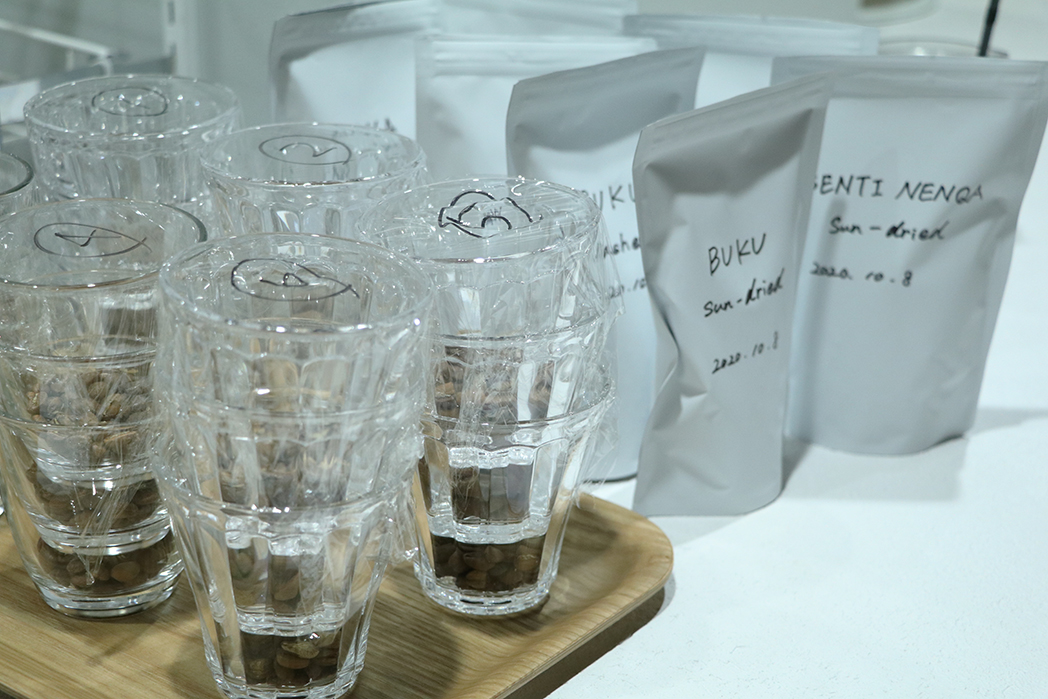 MEDAT カッピングイベント 使用するコーヒー豆