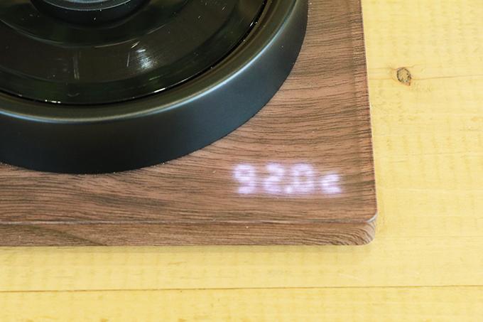 Kalita(カリタ) 電気式ドリップ専用ポッド KEDP-600 温度 摂氏
