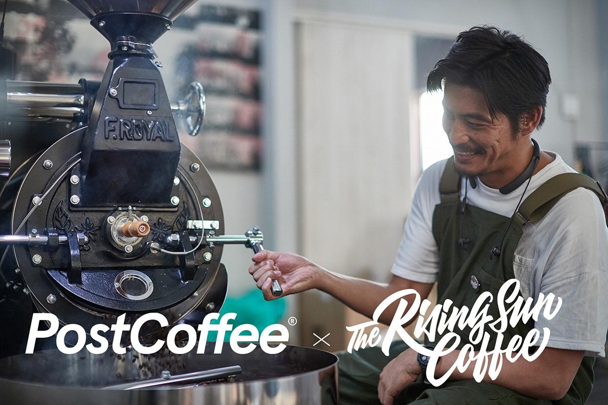コーヒーのサブスクサービス「PostCoffee」に『The Rising Sun Coffee』が登場!