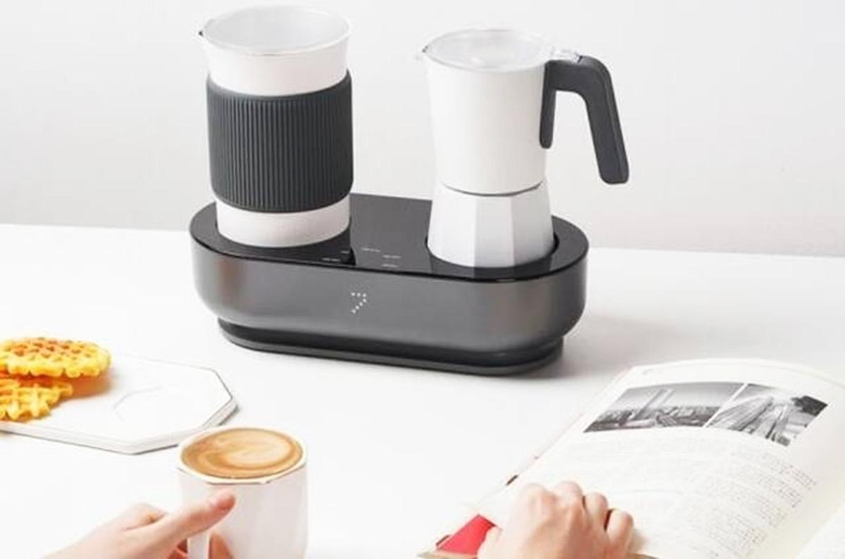ボタン1つ、3分でエスプレッソとフォームミルクができる!コーヒーマシン「Seven&Me」が日本に登場しています。